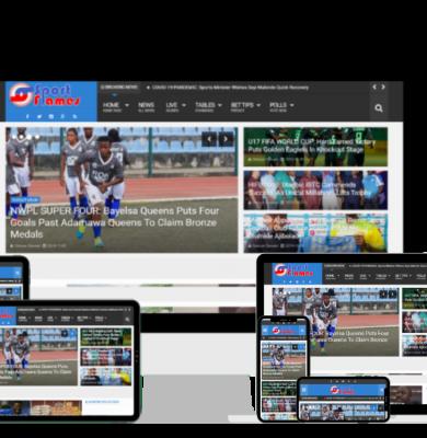 Website Screenshots-SportFlames